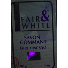 F&W FAIR AND WHITE SAVON GOMMANT Exfoliating Soap