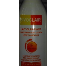 SIVOCLAIR LAIT CLARIFANT Lightening Body Lotion